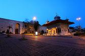 Historical Topkapi Palace in Istanbul -Gate of Salutation — Stock Photo