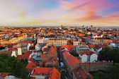 Zagreb cityspace — Stock Photo