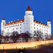 Bratislava castle from parliament — Stock Photo