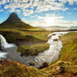 Stock Photo: Panorama - Iceland landscape