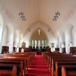 Akureyrarkirkja - The Church of Akureyri — Stock Photo