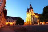 Saint Nicolas church in Trnava, Slovakia - Eastern Europe — Stock Photo