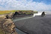 South Iceland - Dyrholaey coast — Stock Photo