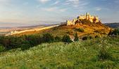Slovakia landscape with Spissky castle — Stock Photo