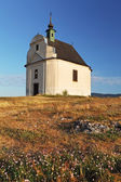 Holy cross baroque chapel on the hill Siva brada - Spis — Stock Photo