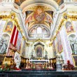 Interior of Cathedral Saint Nicholas — Stock Photo