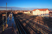 Historic train station — Stock Photo