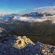 Alps Dolomites panorama — Stock Photo