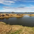 Lake Myvatn - Iceland — Stock Photo