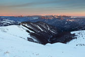 Slovakia mountain at winter - Fatras — Foto Stock