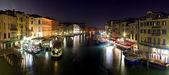 威尼斯-里亚托桥的全景视野 — 图库照片