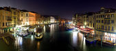 Venice - panoramic view from Rialto bridge — Stock Photo