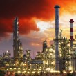 Oil industry factory — Stock Photo
