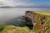 Cliff in Iceland — Stock Photo