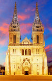 Cathedral at sunrise — Stock Photo