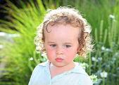 幼児の肖像画 — ストック写真