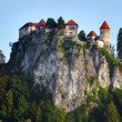Stock Photo: Medieval castle of Bled