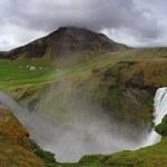 Iceland waterfall — Stock Photo
