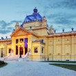 Art pavillion in Zagreb. Croatia — Stock Photo #35170783