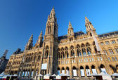 Vienna's City Hall — Stock Photo