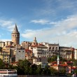 Galata district - Istanbul — Stock Photo