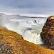 Stock Photo: Gullfoss waterfall , Iceland