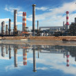 Stockfoto: Petrochemical factory