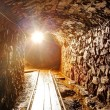 Stock Photo: Underground tunnel