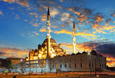 Istanbul mosque — Stock Photo