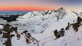 Poland mountain landscape at winter — Foto de Stock
