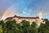 Ljubljana castle, slovenia, europe — Stock Photo