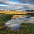 Nice mountain Iceland country — Stock Photo