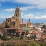 Old town of Segovia — Stock Photo