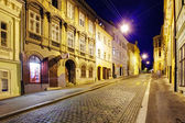 Street at night, Zagreb — Stock Photo