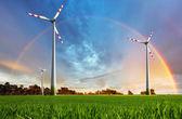 Impianto eolico — Foto Stock