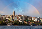 Galata district, Turkey — Stock Photo