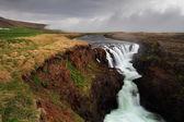 Canyon Kolugil - Iceland — Stock Photo