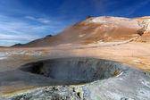 Volcanic landscape Namafjall — Stock Photo