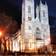 Westminster Abbey at night, London — Stock Photo #40408153