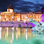 National Gallery of Art, Trafalgar Square, London — Stock Photo #40408261