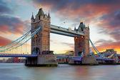 Tower Bridge in London, UK — Stock Photo