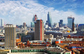 Aerial view of London, England — Stock Photo
