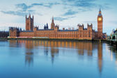 Houses of parliament - Big ben, england, UK — Stock Photo
