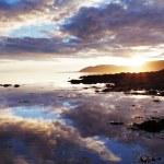 Sea sunset — Stock Photo