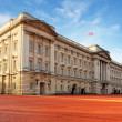 LONDON - JAN 10 : Buckingham palace pictured on January 10th, 20 — Stock Photo