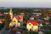 Kilise - havadan görünümü — Stok fotoğraf