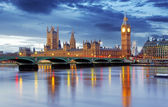 London - Big ben and houses of parliament, UK — Stock Photo