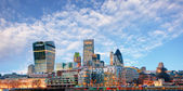 London skyline - cityspace, England — Photo