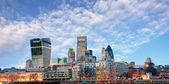 London skyline - cityspace, England — Stock Photo