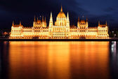 Parliament, Budapest, Hungary at night — Stock Photo
